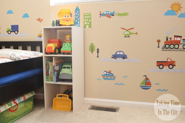 Our Boy Life - Transportation Bedroom Wall Decals