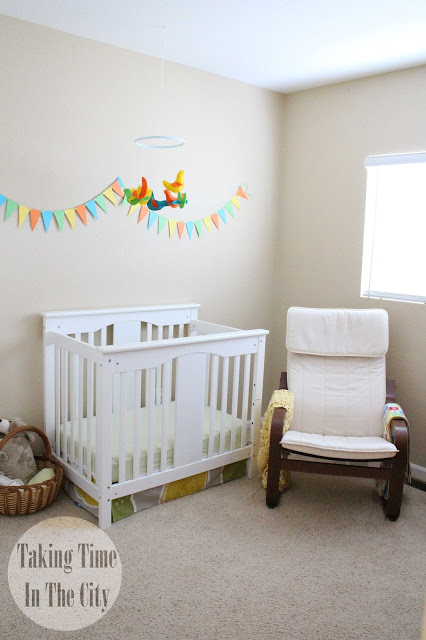 Our Boy Life - Nursery with Birds Mobile