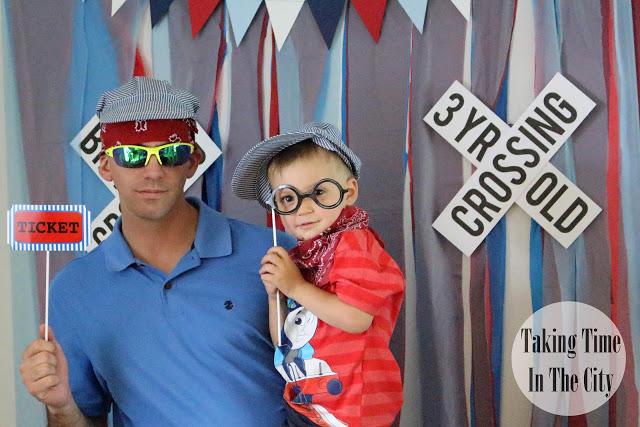 Our Boy Life - Thomas Birthday Party Photo