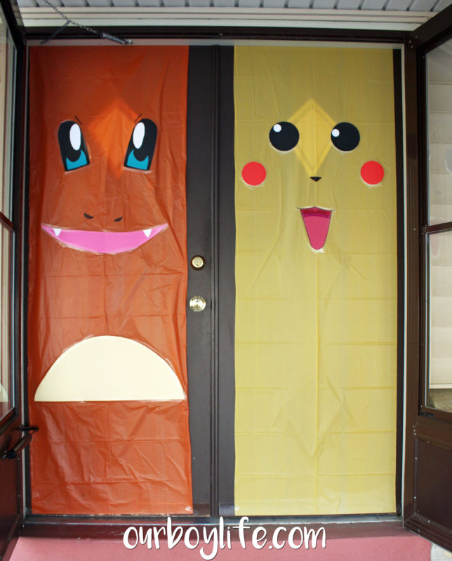 Pokemon Birthday Party Charmander and Pikachu - Our Boy Life