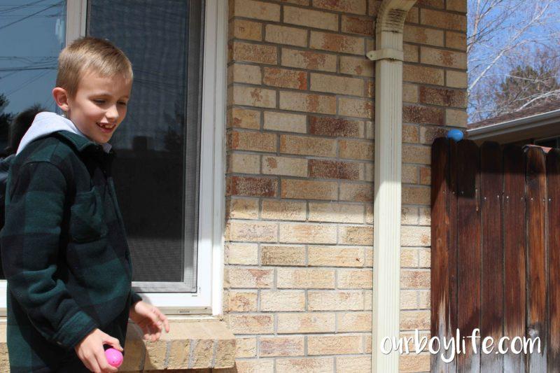 Our Boy Life - Egg Hunt