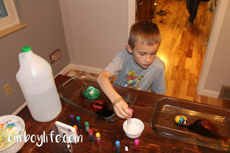 Our Boy Life - Volcano Egg Dying