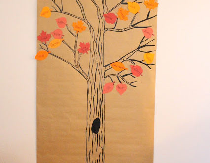Our Boy Life | Thanksgiving Thankful Tree