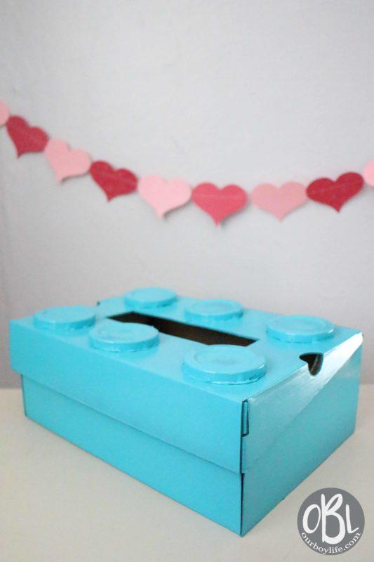 DIY LEGO Valentine Box