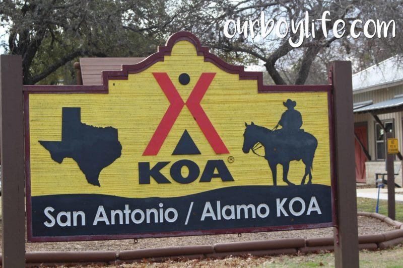 Alamo KOA in San Antonio, TX