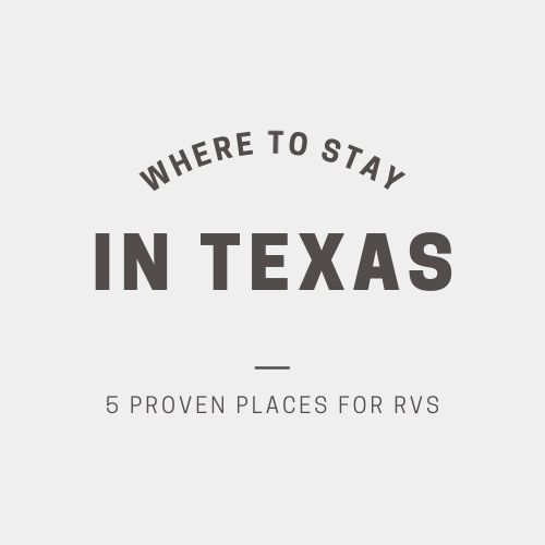 Where to stay in Texas
