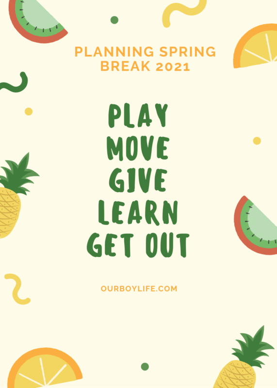 Planning spring break 2021